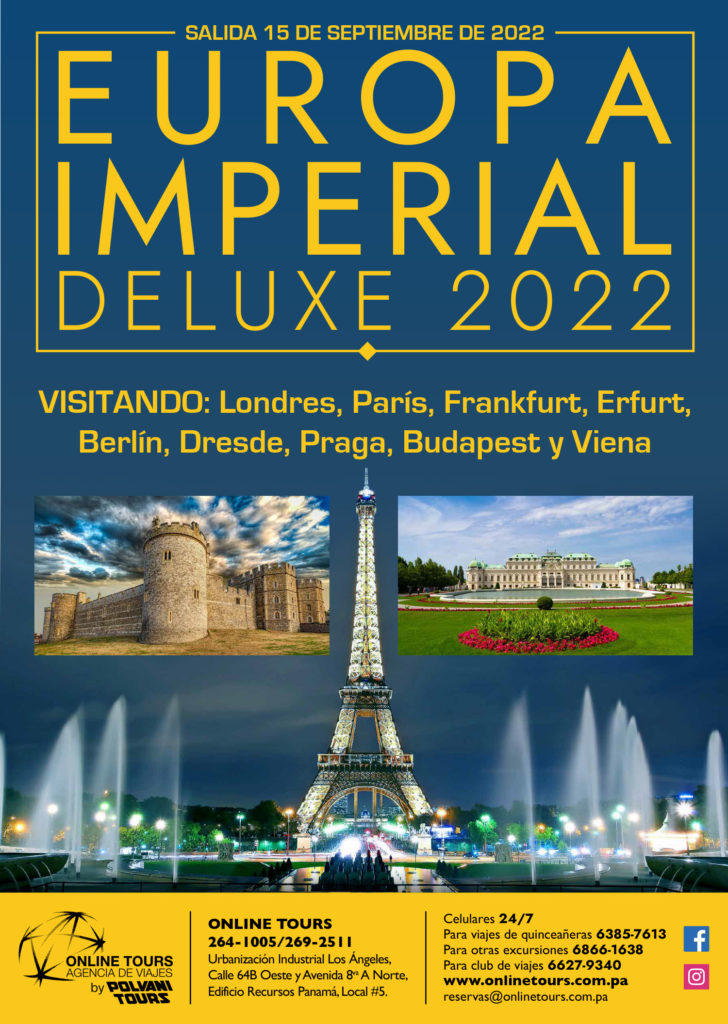 Online Tours EUROPA IMPERIAL