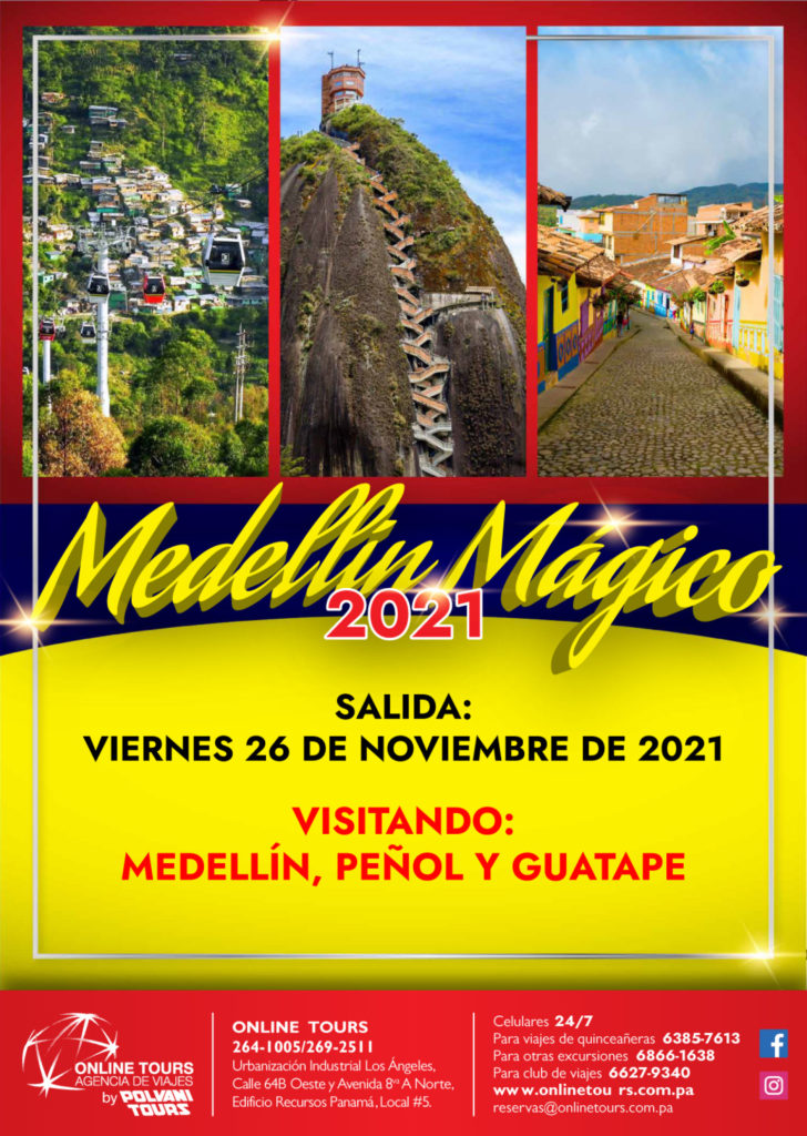 Online Tours MEDELLIN MAGICO